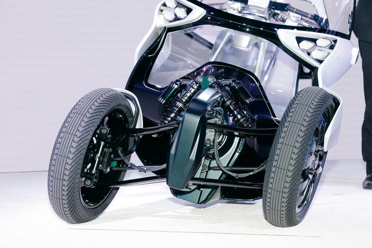 画像1: さらなるLMWの可能性を示す、近未来モビリティ・コンセプト