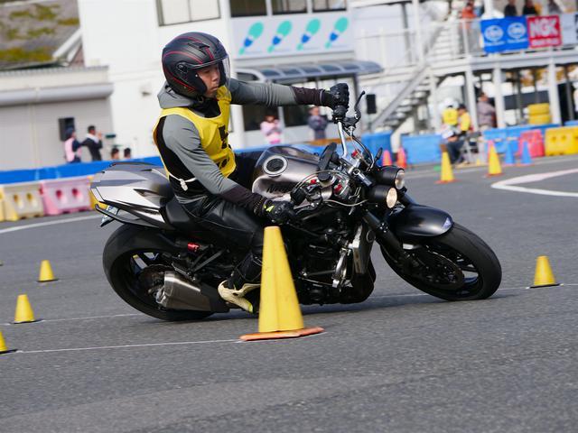 画像: NO級1位・野島勝成選手&ニンジャ1000 1分43秒583