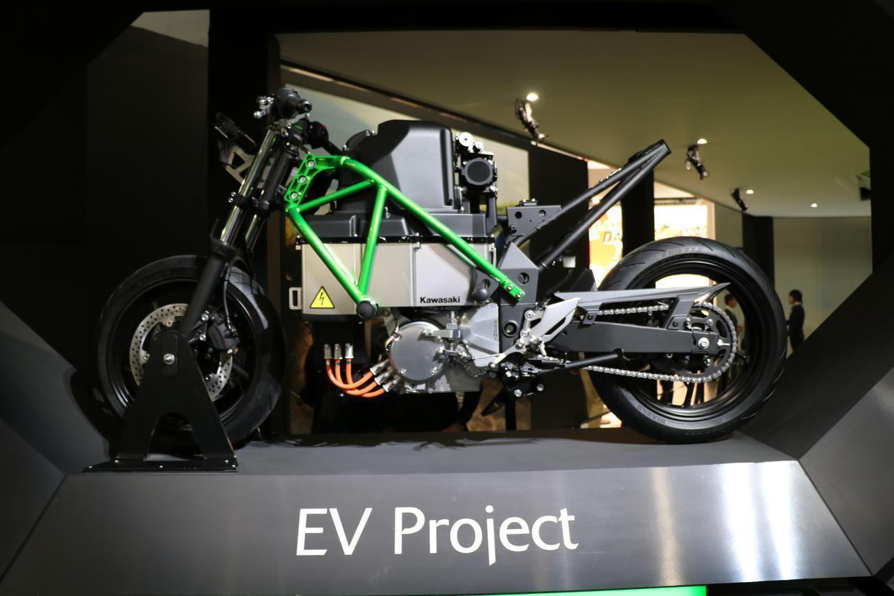 画像: 【EICMA 2019速報!】カワサキが突如公開した電動スポーツバイクの気になる内容とは? - webオートバイ