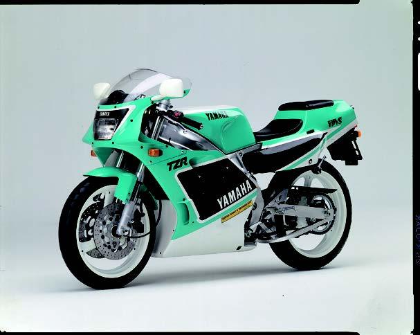 Images : ヤマハ TZR250 1990 年2月