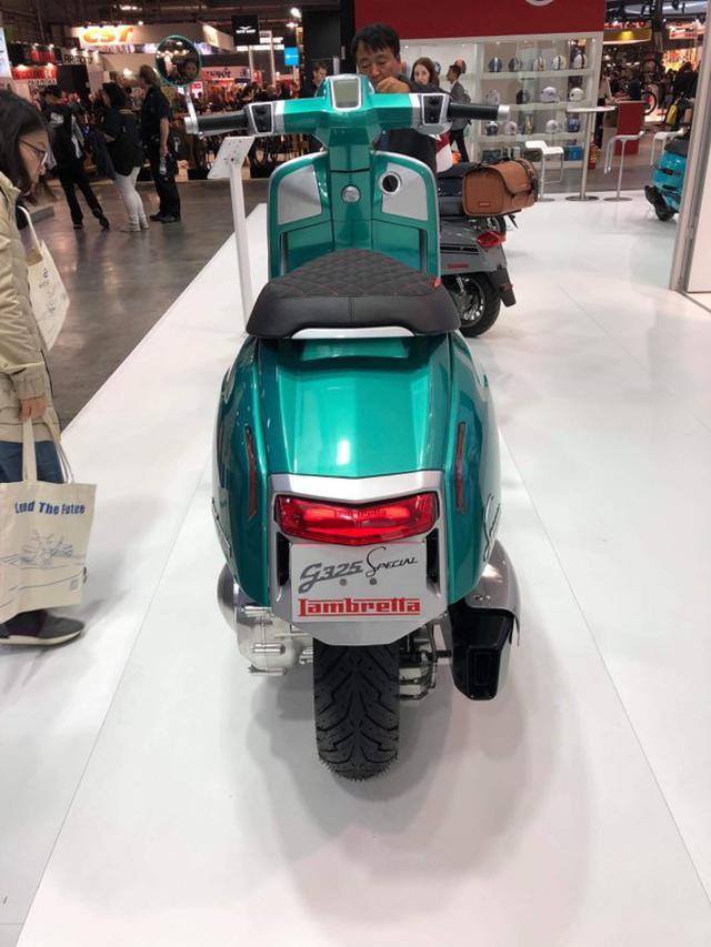 画像1: ランブレッタが325ccの新型エンジンを搭載した「G325 Special」をミラノで発表【EICMA 2019速報!】
