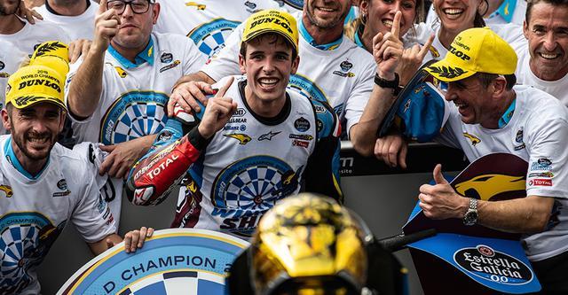 画像1: 2019年のMoto2を制したアレックス・マルケス選手が2020年レプソル・ホンダ・チームからMotoGPクラスに参戦