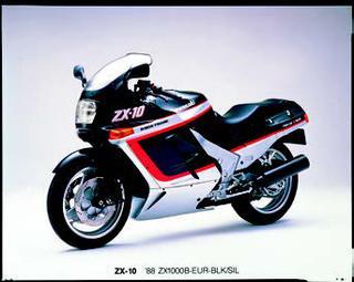 カワサキ ZX-10 1990 年