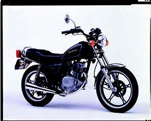 Images : スズキ GN125E 1990 年