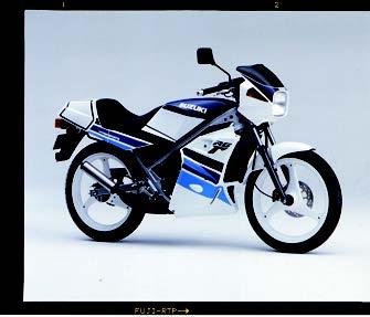 Images : スズキ RG50Γ 1990 年1月