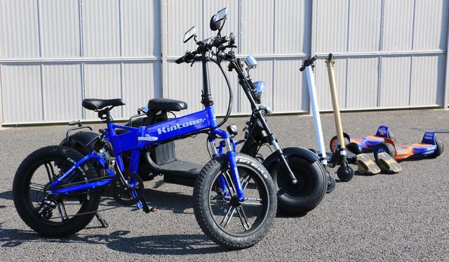 画像: 既存のメーカー以外が続々と進出する電動モビリティ業界、キントーンは茨城県に本社を置く日本のメーカー