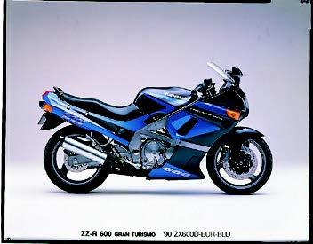 Images : カワサキ ZZR600 1990 年