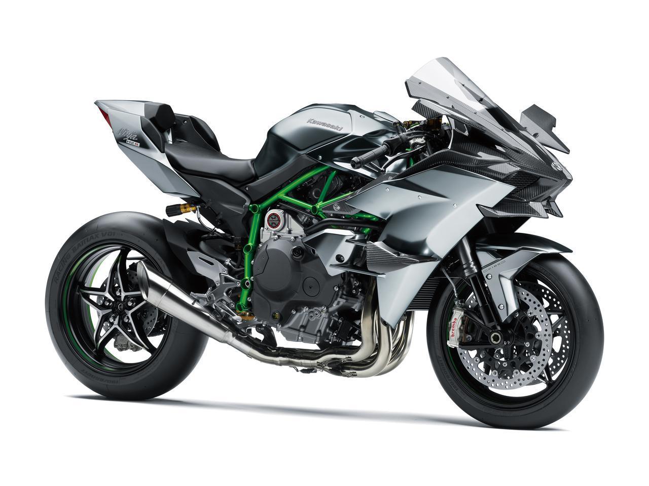 Images : 1番目の画像 - カワサキ「Ninja H2R」の写真を見る - webオートバイ