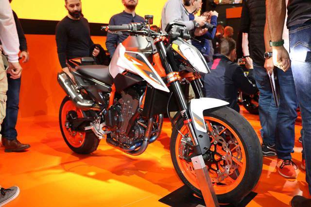 画像: 【EICMA 2019速報!】790がパワーアップして890に進化!KTMの俊足ファイター「890DUKE R」に注目! - webオートバイ