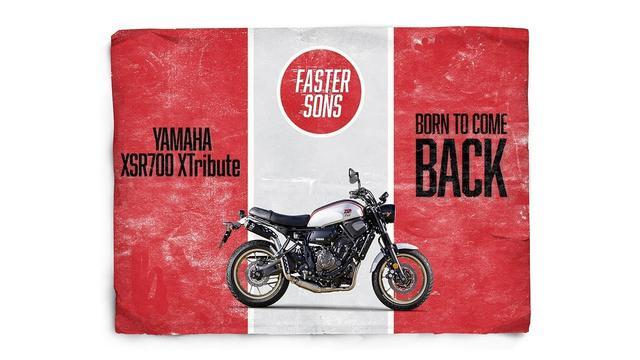 画像: New XSR700 XTribute: Yamaha's retro Faster Sons scrambler youtu.be