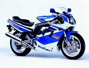 Images : スズキ GSX-R750 1991年2月