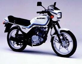 Images : スズキ GS125E 1990 年 8月