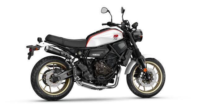 画像3: ヤマハ「XSR700 XTribute」これぞバイクブーム世代に刺さる1台!? モチーフとなったモデルはあの名車!【EICMA 2019速報!】