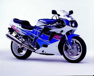 Images : スズキ GSX-R750 1992 年1月