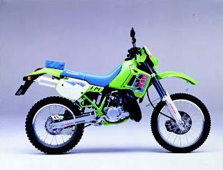 カワサキ KDX200SR 1991年12月