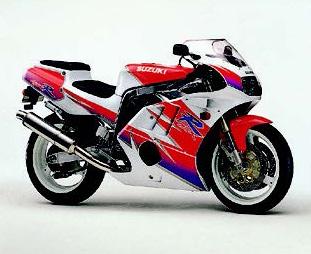 Images : スズキ GSX-R400R/SP 1992 年1月