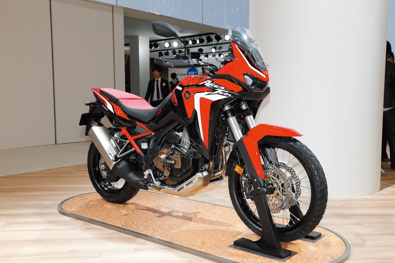 Images : 1番目の画像 - CRF1100L Africa Twinの写真をまとめて見る! - webオートバイ