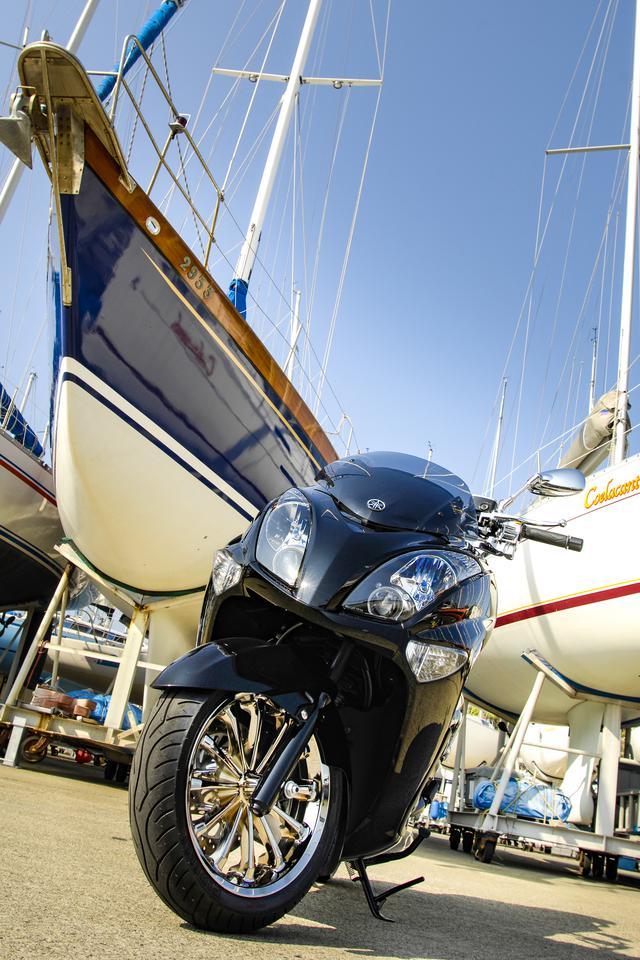 画像7: 新たなビッグスクーターブームへ向けて、ヤマハが方向転換の舵を切った三代目マジェスティ