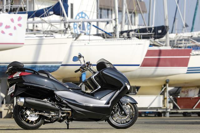 画像3: 新たなビッグスクーターブームへ向けて、ヤマハが方向転換の舵を切った三代目マジェスティ