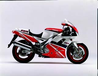 Images : ヤマハ FZR1000 1993 年