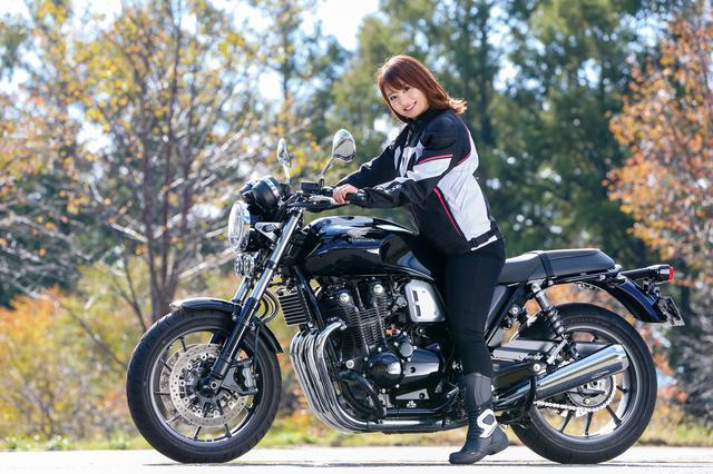 画像2: 平嶋夏海「小柄なライダーに大切な、安心感があって乗りやすかったです」