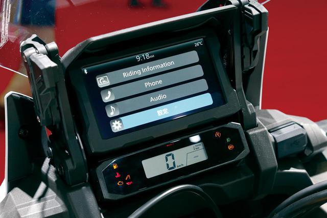 画像4: 充実装備でロングツーリングを快適に! ホンダ「CRF1100L Africa Twin Adventure Sports/ES」を解説