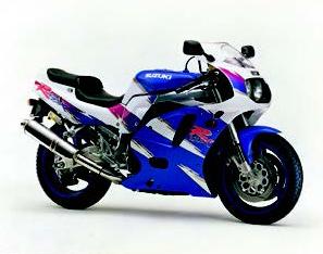 Images : スズキ GSX-R750 1993 年7月