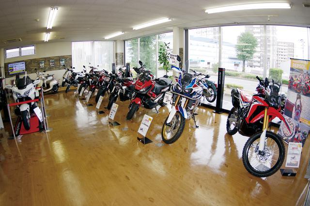 画像1: ホンダ二輪車の全車種を取り扱う唯一の専門店!