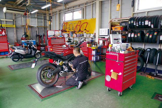 画像4: ホンダ二輪車の全車種を取り扱う唯一の専門店!