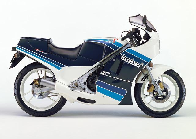 画像: RG250Γ(GJ21B)1985年3月26日発売 48万円(当時)
