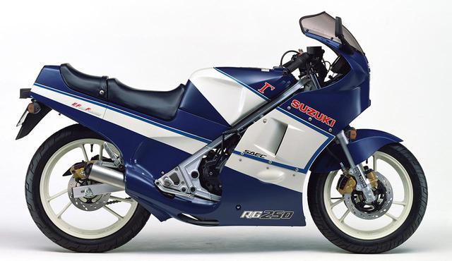 画像: RG250Γ(GJ21B)1986年2月1日発売 48万9000円(当時)