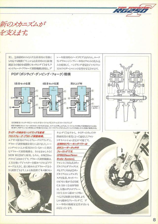 画像4: 【RG-Γ伝】Vol.2「外装や排気バルブを刷新した3型と4型」RG250Γ(GJ21B)-1985〜1986- 〜当時の貴重な資料で振り返る栄光のガンマ達〜