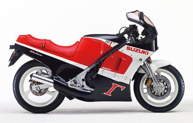 画像: RG250Γ(GJ21B)1987年6月1日発売 48万9000円(当時)
