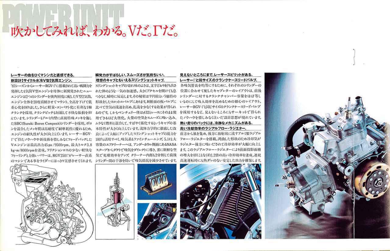 画像1: 【RG-Γ伝】Vol.4「Vツインに生まれ変わった250ガンマの第2世代」RG250Γ(VJ21A)-1988-1989- 〜当時の貴重な資料で振り返る栄光のガンマ達〜