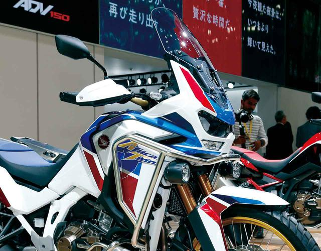画像: 充実装備でロングツーリングを快適に! ホンダ「CRF1100L Africa Twin Adventure Sports/ES」を解説 - webオートバイ