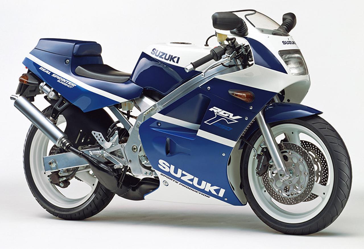 画像: RGV250Γ SPORTS PRODUCTION(VJ21A)1988年3月下旬発売 60万9000円(当時)