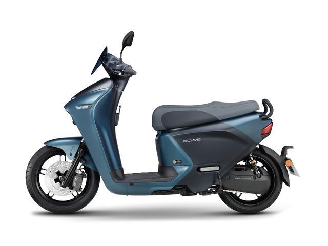 画像: ヤマハの電動スクーター「EC-05」