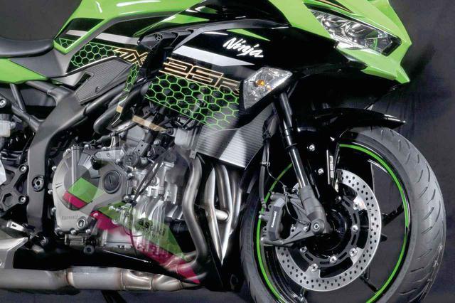 画像: カワサキの250cc4気筒バイク『Ninja ZX-25R』は?