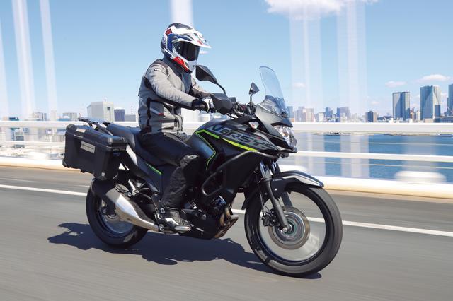 画像4: 【比較インプレ】250ccアドベンチャーを徹底検証〈高速道路編〉ホンダ CRF250 RALLY/ヤマハ TOURING SEROW/スズキ V-Strom250/ABS/カワサキ VERSYS-X250 TOURER