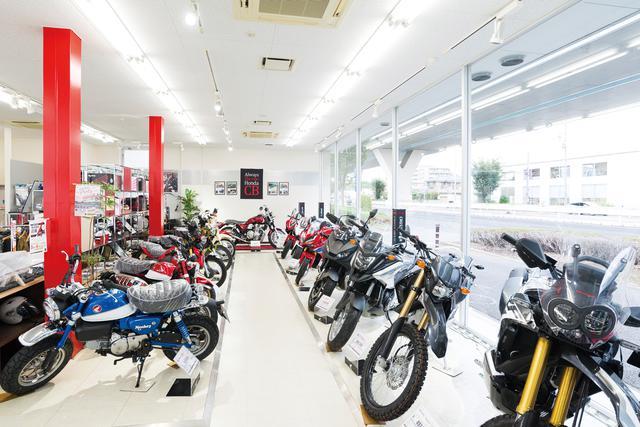 画像1: Honda二輪車の全車種を取り扱う唯一の専門店!