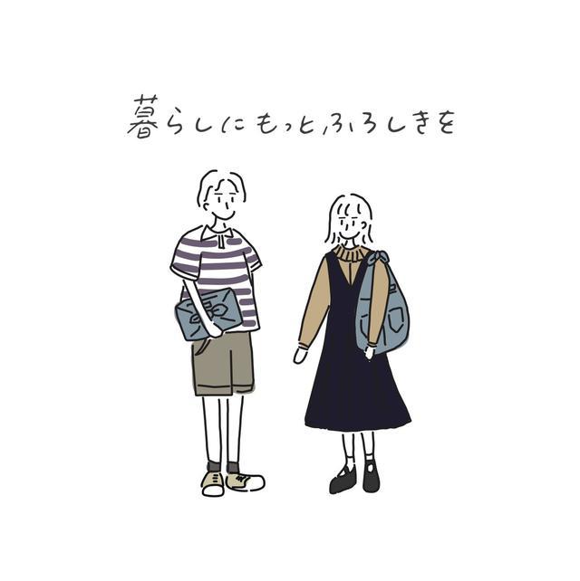 画像: 東京/日本橋/人形町発オシャレな風呂敷ブランド