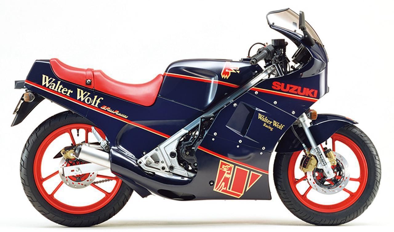 Images : 5番目の画像 - 「【RG-Γ伝】Vol.3「外装も変化して並列2気筒最終モデルとなった5型」RG250Γ(GJ21B)-1987- 〜当時の貴重な資料で振り返る栄光のガンマ達〜」のアルバム - webオートバイ