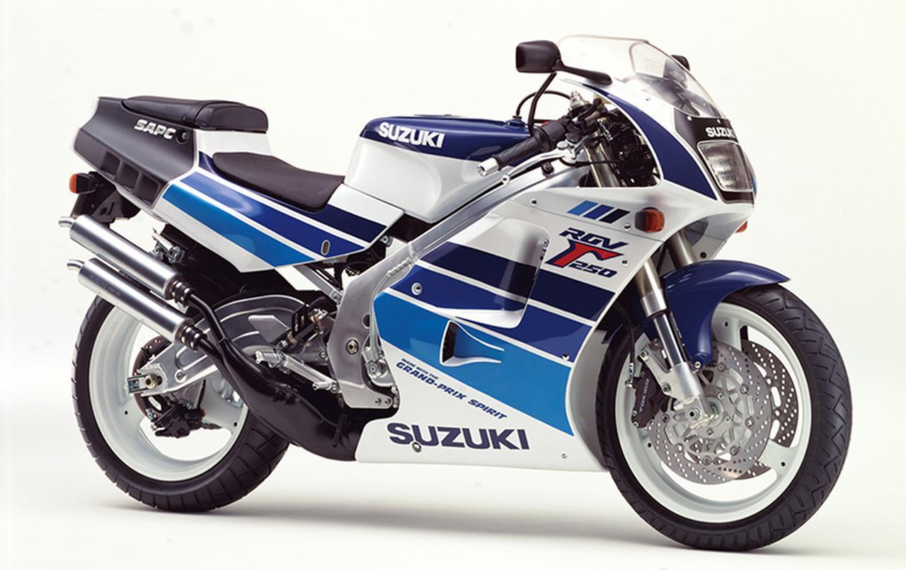 画像: RGV250Γ SPORTS PRODUCTION(VJ22A)1990年1月31日発売 66万9000円+消費税3%(当時)