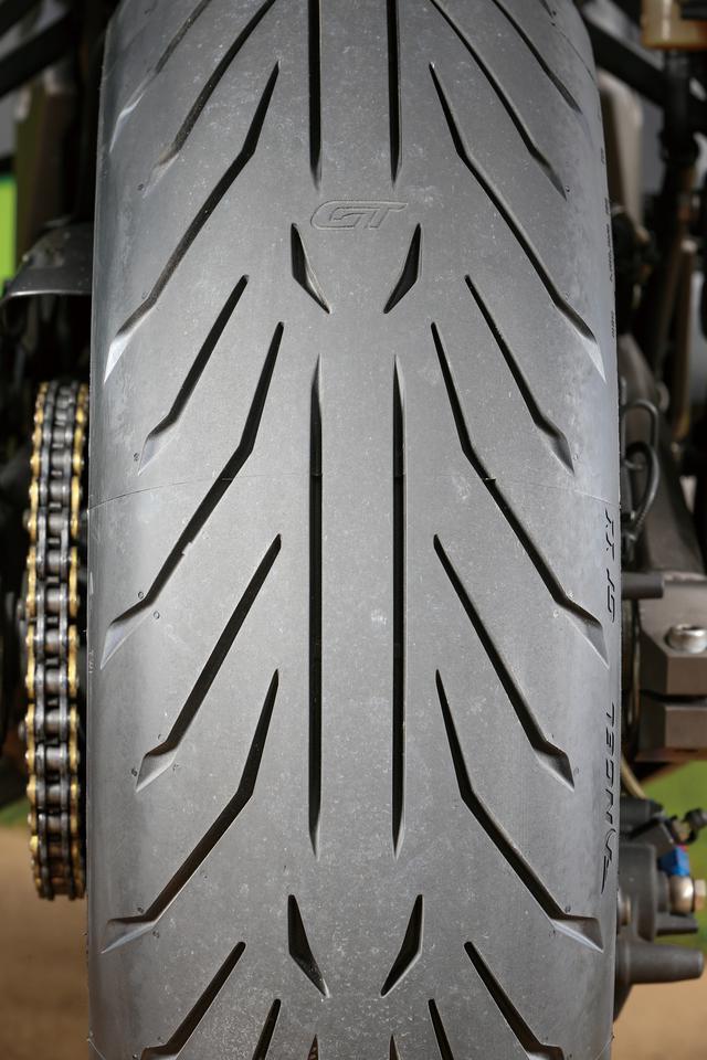 画像2: 【タイヤインプレ】ピレリ「エンジェル GT Ⅱ」軽快感抜群! 長距離走行でも疲れにくいバランスのいいツーリングタイヤ