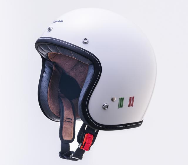 画像11: ベスパの純正ヘルメットが日本でも販売開始! カラー展開は計5色、人気のボディカラーとコーディネートが可能に