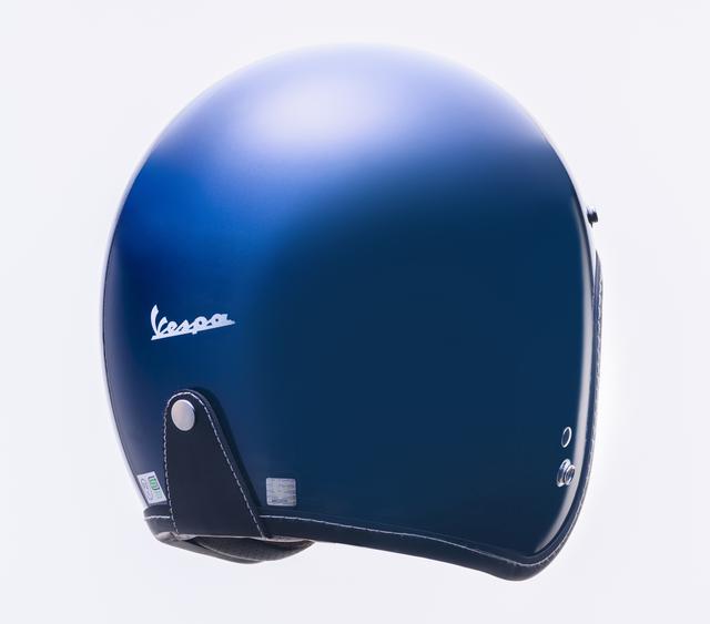 画像2: ベスパの純正ヘルメットが日本でも販売開始! カラー展開は計5色、人気のボディカラーとコーディネートが可能に