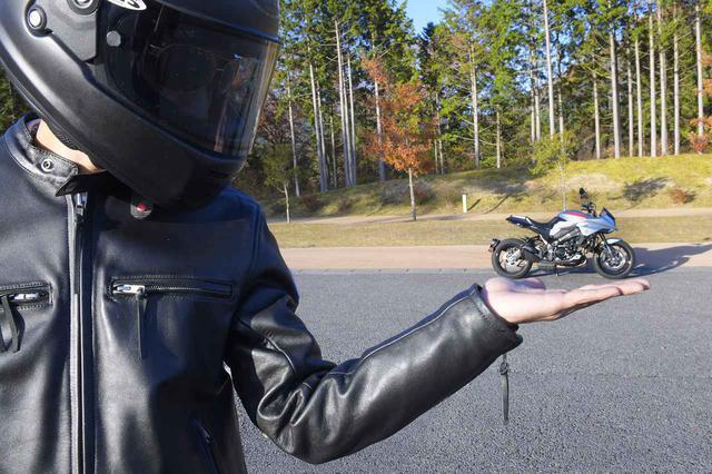 画像: バイク乗り冥利に尽きる……