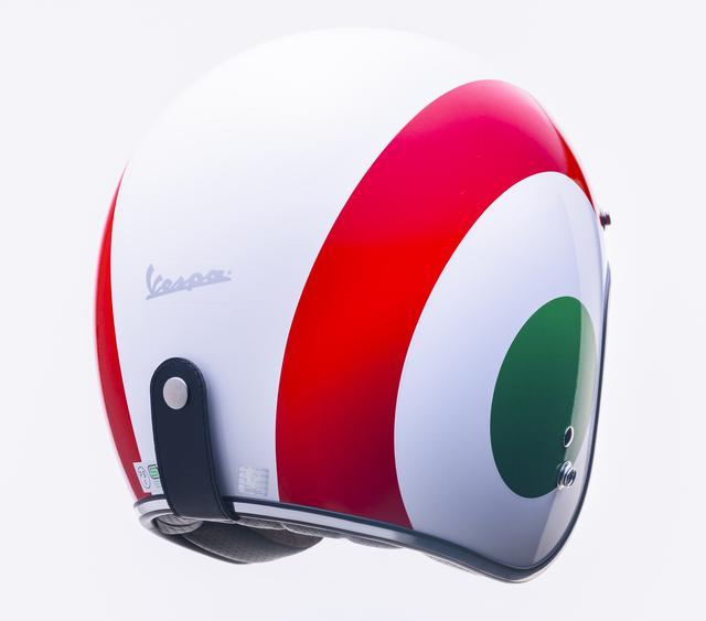 画像8: ベスパの純正ヘルメットが日本でも販売開始! カラー展開は計5色、人気のボディカラーとコーディネートが可能に