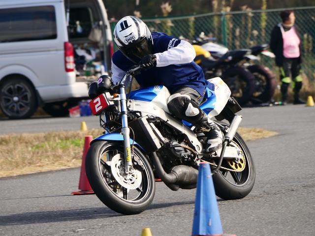 画像: 池田選手&NSR250R