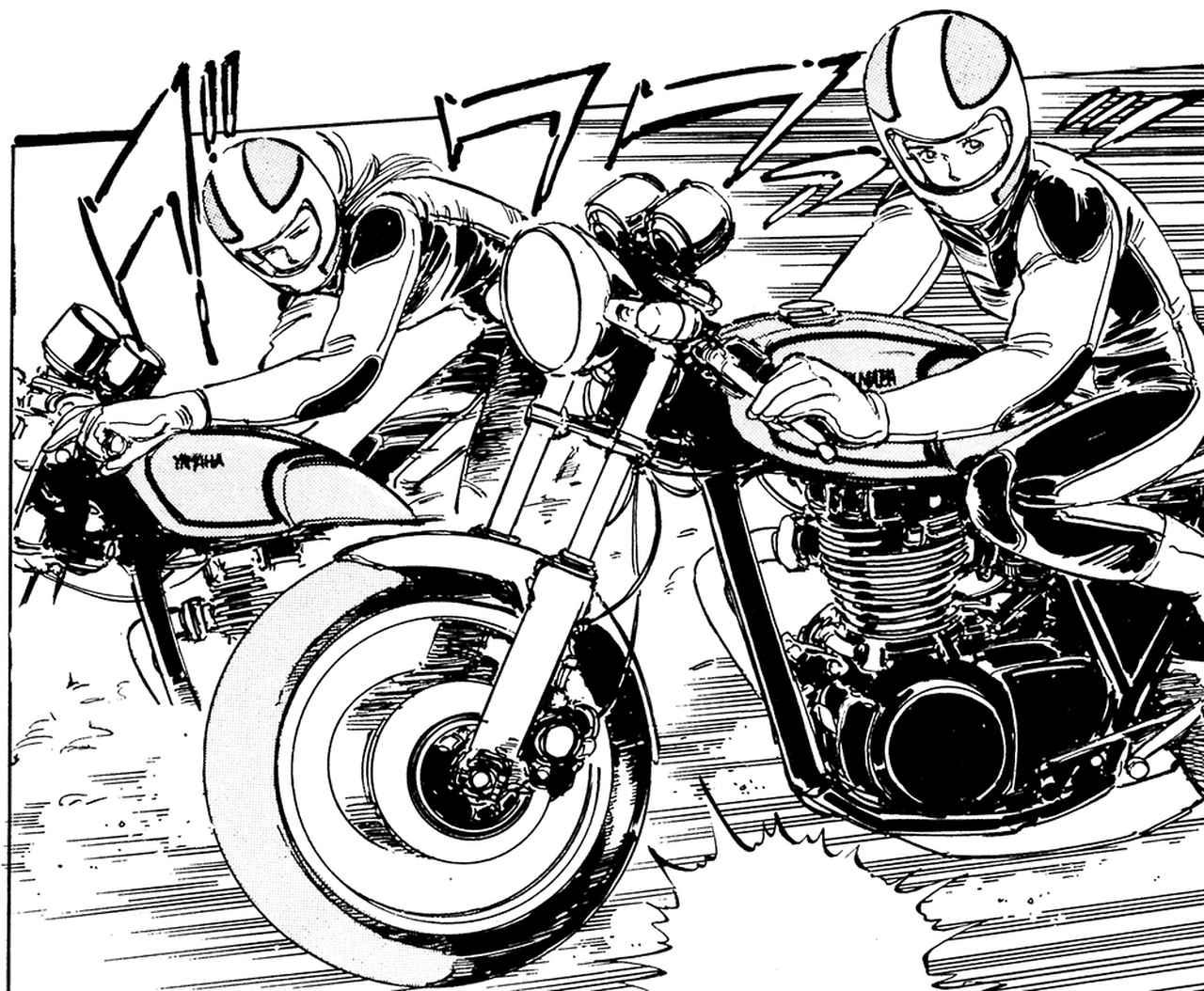 画像: 第16回/エミとマコのヤマハ「SR400」